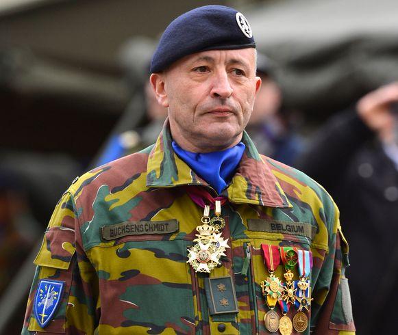 Ex-generaal Guy Buchsenschmidt