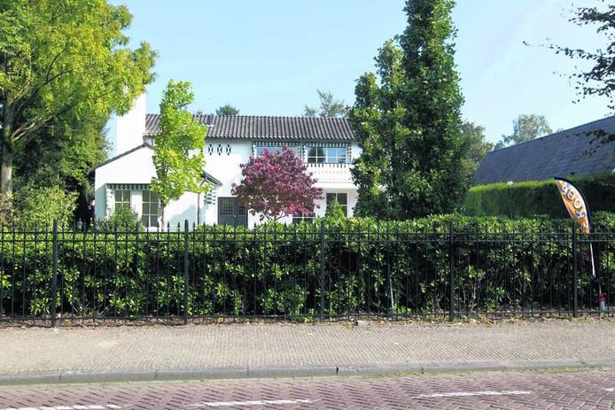 De villa in Gemert waar Rob van den B. woonde