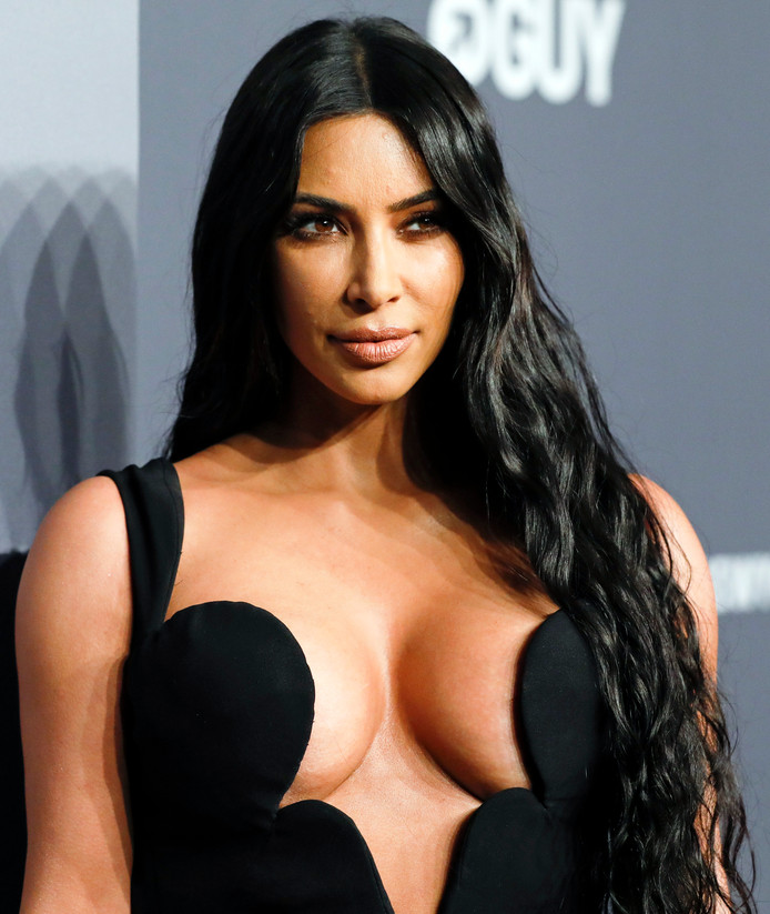 Kim Kardashian West bij een gala in New York vorige week.