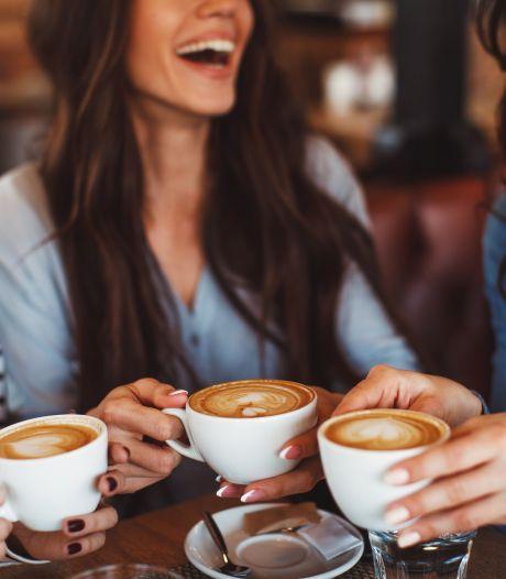 Koffie buiten de deur? Hier drinken we het liefst ons bakkie