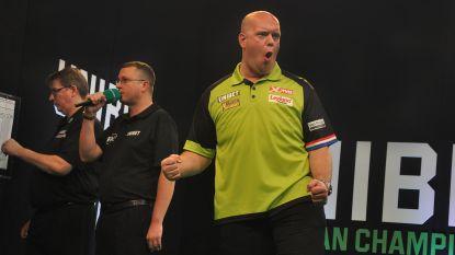 Titelverdediger Van Gerwen laat zich niet verrassen in openingsronde EK darts