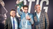 Stig Broeckx als filmvedette onthaald bij 'wereldpremière' 'De Stig'