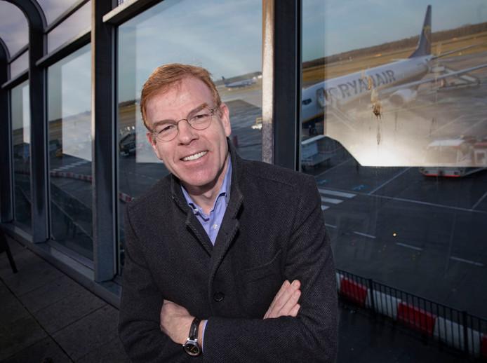 Directeur Joost Meijs van Eindhoven Airport.  Foto René Manders.