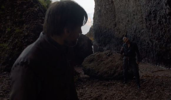 Jaime komt oog in oog te staan met Euron.