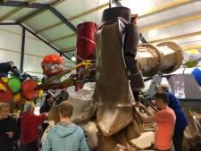 Bornse praalwagen opnieuw in Oldenzaal