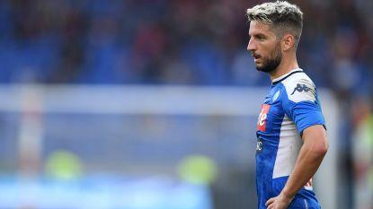 Mertens kan met Napoli tegen Genoa al voor vierde wedstrijd op rij niet winnen