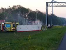 Columbia - Achilles'12 afgelast door dodelijk ongeval op de A1