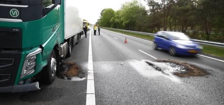 A28 tussen Wezep en 't Harde eindelijk weer open na ravage door ongeluk