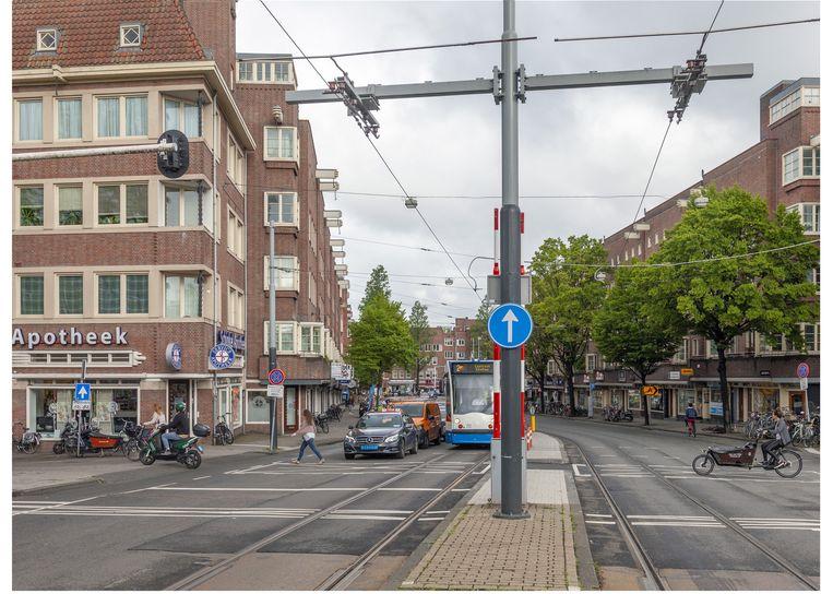 De Hoofddorpweg in 2019. Beeld Erik Klein Wolterink