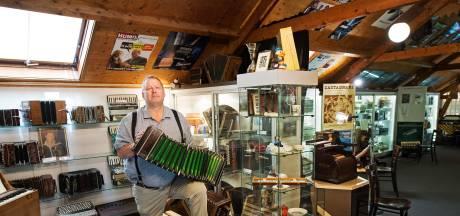 Na 22 jaar punt achter accordeonmuseum in Malden: 'Corona gaf het laatste zetje'