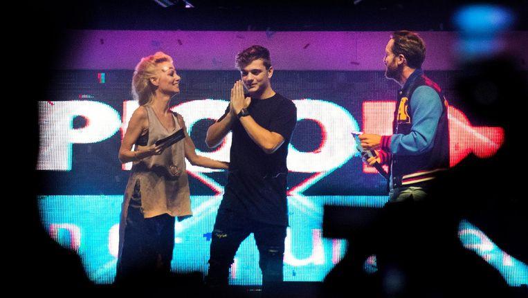 Garrix haalt voor de tweede keer op rij de award op Beeld anp