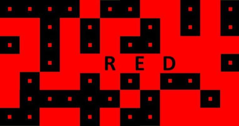 De gelijkaardige puzzelapp Red