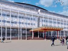 Luifel stadhuis Apeldoorn op losse schroeven