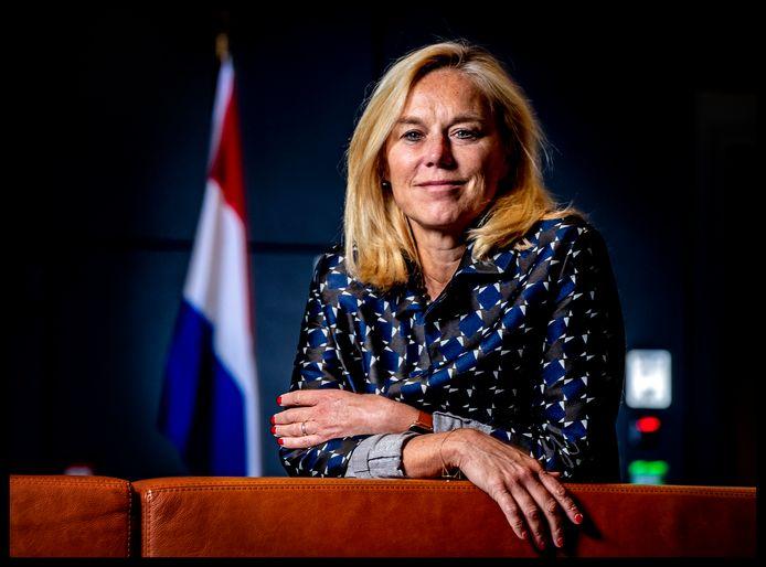 Minister van Buitenlandse Handel Sigrid Kaag