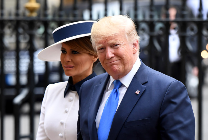 Selon Michael Wolff, Donald et Melania Trump entretiendraient très peu de contact.