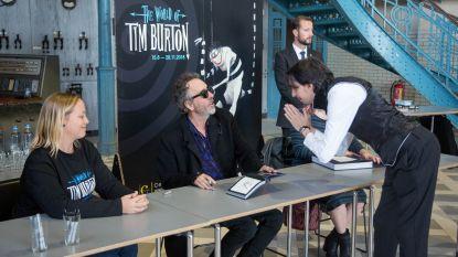 Komst Hollywoodster Tim Burton  legt stad en shops geen windeieren
