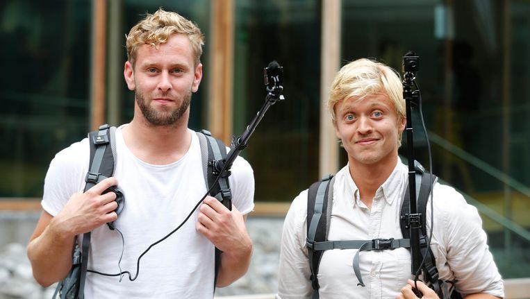 Tim den Besten (L) en Nicolaas Veul (R). Beeld anp