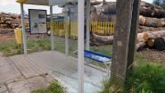 Vandalen beschadigen bushokje in Holsbeek