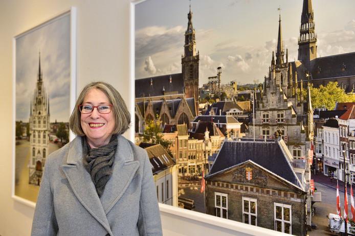 Burgemeester Mirjam Salet van Gouda.