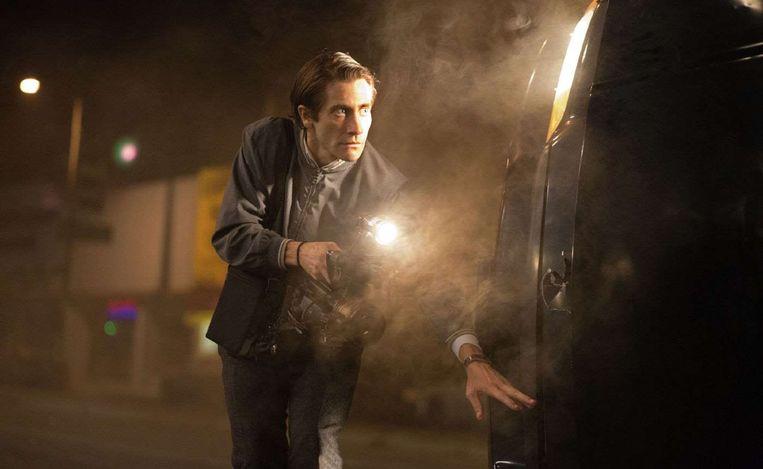Jake Gyllenhaal in Nightcrawler van Dan Gilroy. Beeld