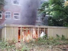 Hangplek Zeist gaat in vlammen op