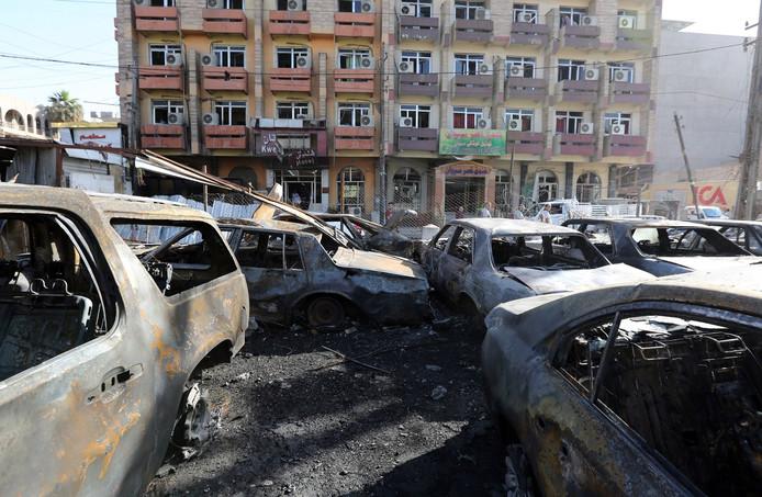 Eerder ging er een autobom af in het centrum van Bagdad.