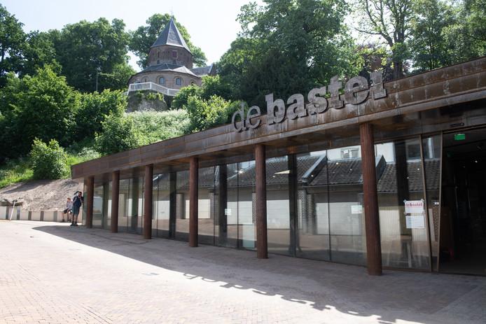 De ingang van de Bastei aan de voet van het Valkhof.