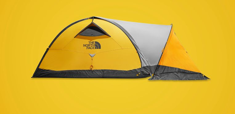 The North Face tent Beeld Leon Hargreaves