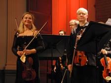 Strijkers van philharmonie zuidnederland zijn niet vies van potje romantiek