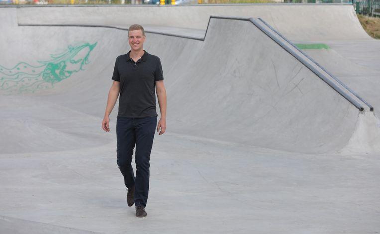 Karel Vandenbroucke stampte het project 'Skate4All' uit de grond.
