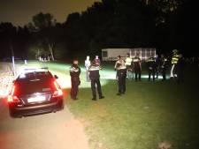 Politie maakt einde aan groot feest in de Delftse Hout