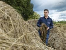 Bokashi: plantenresten uit de shredder op het land om de droogte te lijf te gaan