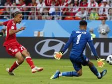 Denemarken heeft aan één kans genoeg tegen slordig Peru