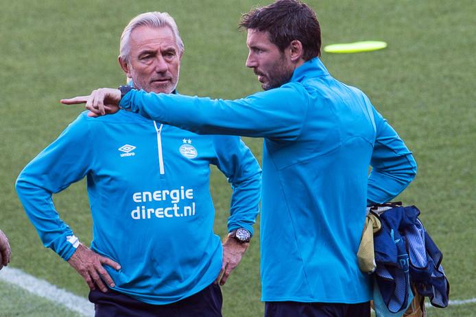 Bert van Marwijk en Mark van Bommel
