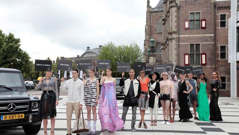 Amsterdam Fashion Week 2014 Beeld Peter Stigter