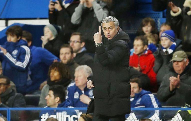 Jose Mourinho zag op zijn 51ste verjaardag 'slechts' één goal van Chelsea.