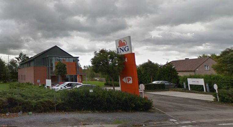 Het ING-kantoor in Seneffe in de provincie Henegouwen.