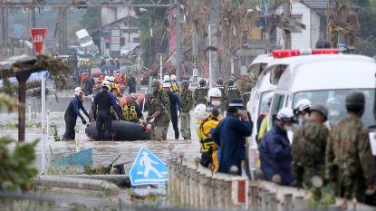 Overstromingen in Japan: al zeker 18 doden, nog 17 vermisten