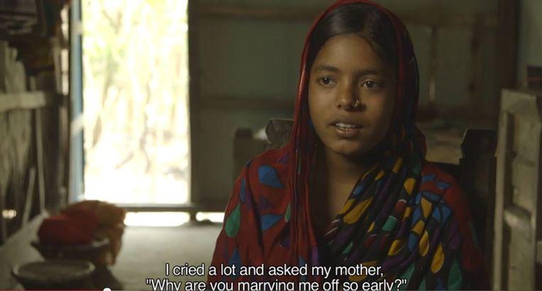 Sifola werd uitgehuwelijkt op haar dertiende. Beeld screenshot