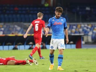 Dries Mertens en Napoli pijnlijk onderuit tegen zwaar gehavend AZ Alkmaar, Vertonghen wint met Benfica