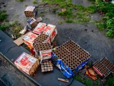 Meer schade door vuurwerk in Beuningen