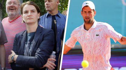 """Servische premier neemt schuld van Adria Tour-fiasco op zich: """"Laat Djokovic maar met rust"""""""