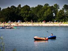 Droogte: provincie waarschuwt voor te steile bodems in recreatieplassen