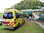 Kind belandt in 5 meter diepe put van evenemententerrein in Nuenen, omstanders bieden hulp