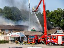 Transportbazen na hevige brand bij wegrestaurant De Lichtmis: 'Een gemis voor de truckerswereld'