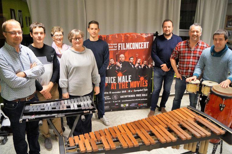 Harmonie Vermaak na Arbeid houdt een filmconcert in de Europahal.