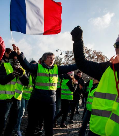 Benzineprotest Frankrijk: ondanks ruim 400 gewonden opnieuw acties