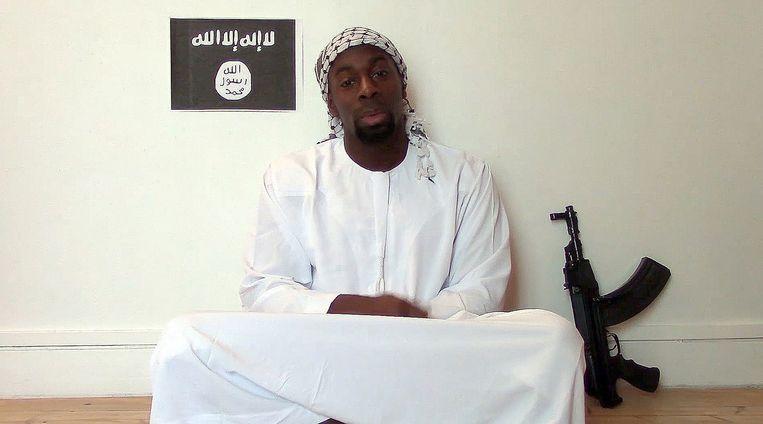 Op sociale media circuleert dit portret dat van Coulibaly zou zijn. Beeld afp