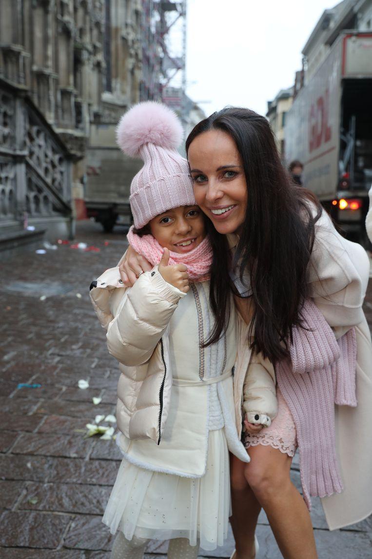 Ann met haar dochter June