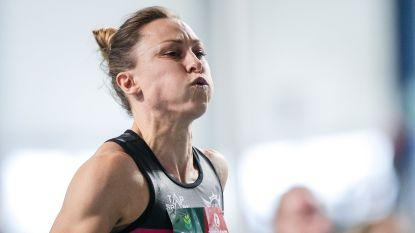Eline Berings moet geblesseerd afhaken voor EK atletiek indoor